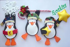 The Roskiss Atelier: Holiday Crafts For Kids, Felt Crafts, Christmas Crafts, Christmas Decorations, Christmas Sewing, Christmas Love, Christmas Holidays, Xmax, Theme Noel