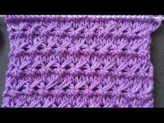 Pletenje - Dječiji pupoljci | Knitting tutorial - Baby Buds Knit Stitch - YouTube