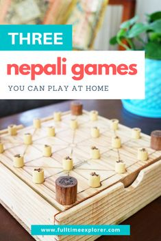3 Nepali Games you can Play at Home | Full Time Explorer | Travel Nepal | Games for Kids | Educational Games | Educational Activities | Learning About Cultures | Board Games from Around the World | Nepalese Games | Nepali Chess | Nepali Pool | Kid Friendly Board Games | Entertainment for Kids | Indoor Activities  #nepal #travel #games #indooractivities Educational Games For Kids, Indoor Activities For Kids, Fun Games, Games To Play, Travel Movies, Travel Books, Travel Nepal, Air Hockey, Different Games