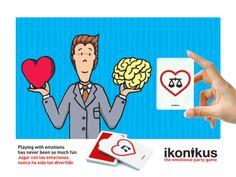 Ikonikus: Balancing / Equilibrio... Jugar con las emociones nunca ha sido tan divertido Playing with emotions has never been so much fun  BrainPicnic.com Ikonikus.com