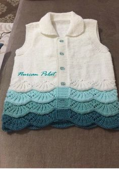 Knitting Models: 2018 Baby Vest Models – ASLI – Join in the world of pin Baby Knitting, Crochet Baby, Knit Crochet, Girls Sweaters, Baby Sweaters, Baby Patterns, Knitting Patterns, Minimalist Outfit, Yarn Shop