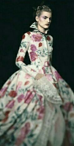 Paolo Roversi. Guinevere in a Christian Dior Haute Couture Dress. Paris