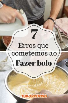 Veja 7 erros comuns que as pessoas cometem ao fazer bolo e dicas para acertar! Easy Healthy Meal Plans, Easy Healthy Recipes, Food Cakes, Cupcake Cakes, Cupcakes, Tasty Videos, Food Videos, Cake Recipes, Dessert Recipes