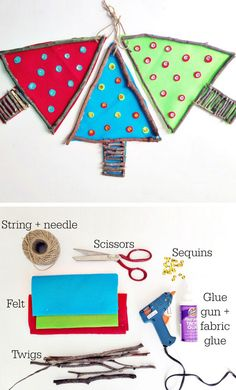 """would be cute with melted bead """"faux stained glass"""" centers. Christmas Gifts 2016, Christmas Craft Fair, Christmas Decorations For Kids, Christmas Crafts For Kids To Make, Teacher Christmas Gifts, Kids Christmas, Diy For Kids, Festive Crafts, Holiday Crafts"""