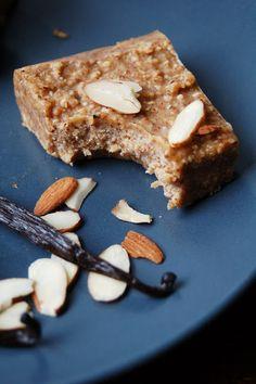 For the Love of Leaves: Vanilla Almond Freezer Fudge (Vegan, Gluten Free, Grain Free)