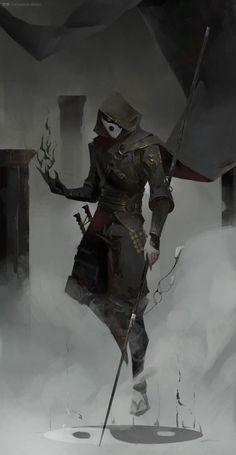 Ninja Kunst, Arte Ninja, Ninja Art, Fantasy Character Design, Character Design Inspiration, Character Concept, Character Art, Fantasy Kunst, Dark Fantasy Art
