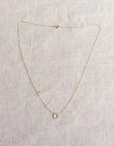 Rose Quartz Necklace Rose Quartz Jewelry Rose by SforSparkleShop