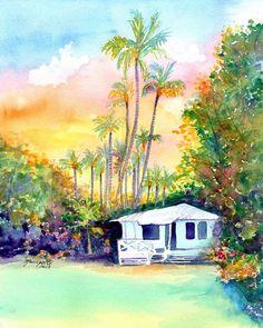 kauai plantation cottages kauai art 8x10 prints hawaii art