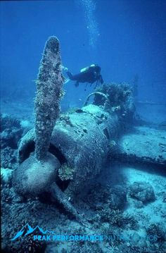 Tagged with ocean; There are more planes in the ocean Underwater Ruins, Underwater Photos, Underwater World, Underwater Photography, Underwater Shipwreck, Abandoned Ships, Abandoned Places, Deep Sea, Scuba Diving