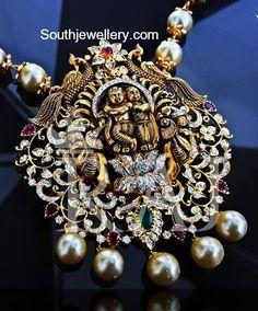 Lord Krishna Antique Pendant