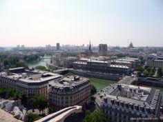 Rive gauche, Seine et toits de Paris
