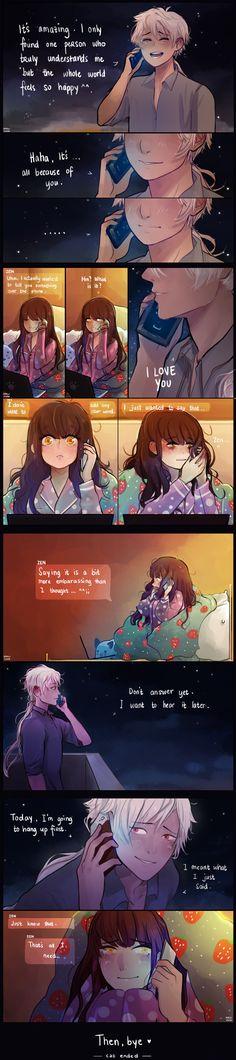 That call make me cry  Zen is just so  Zen ♥ MC