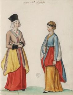 Matsukaze Workshops: 16th Century Irish Dress