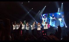 BTS The Red Bullet In Brazil!  Amazing!  Chorei muito!  Amei