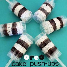 Oreo Push Pops