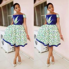 from - perfect design for d perfect ankara n dat perfect pose for d perfect dress. is wat happens wen d designer is an artist. African Dresses For Women, African Print Dresses, African Attire, African Fashion Dresses, African Wear, African Women, Ghanaian Fashion, African Prints, African Inspired Fashion