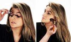 Passo a passo: Alice Salazar ensina como fazer uma maquiagem leve para o dia a dia