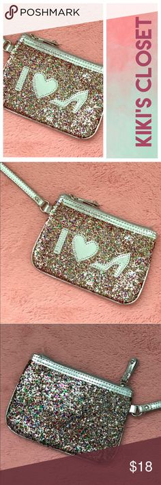 I LOVE SHOES WRISTLET 💗Condition: New without tags, No flaws 💗Smoke free home 💗No trades, No returns 💗No modeling  💗Shipping next day 💗I LOVE OFFERS, offer me! 💗BUNDLE and save more 💗All transactions video recorded to ensure quality.  💗Ask all questions before buying Betsey Johnson Bags Clutches & Wristlets