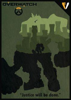 Overwatch Reinhardt by Roadhog Overwatch, Overwatch Posters, Overwatch Drawings, Solider 76, Overwatch Wallpapers, Gaming Wallpapers, Iphone Wallpapers, Art Memes, Community Art