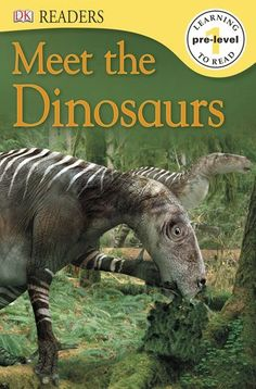 DK Readers L0: Meet the Dinosaurs by DK