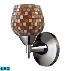 ELK Lighting 10150/1PC-MLT-LED Celina Collection Polished Chrome Finish