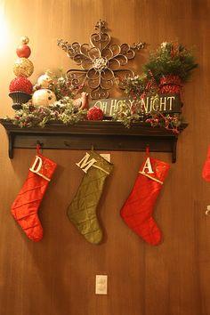 Love this Christmas display