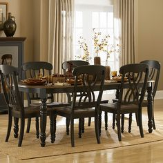 Shop Homelegance  1393 Ohana Dining Table at The Mine. Browse our dining tables, all with free shipping and best price guaranteed.