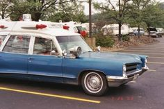 1966 Superior Pontiac Ambulance