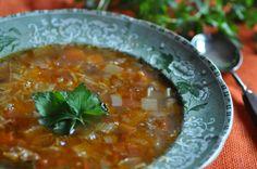 Brodu tal-laham (Beef broth)