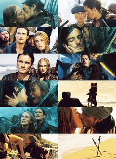 WILLABETH!!! - Pirates of the Caribbean - Orlando Bloom and Kiera Knightley