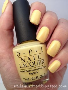 Polish Crazed- Banana Bandana by OPI
