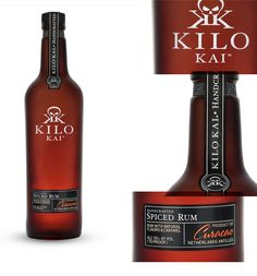 Arlo™ | Kilo Kai Rum Kilo Bottle photography