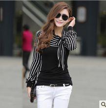O-Neck Women Full Tops 2017 New Korean Fashion Bow Blusas Mujer Blusa Feminina Roupas Moda Femininas Camisa Female cute Blouse Cute Blouses, Shirt Blouses, Blouses For Women, Fashion 2017, Womens Fashion, Daily Wear, Korean Fashion, Casual Shirts, Female