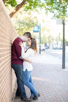 Old Town Alexandria Virginia Engagement Photography | Anna Grace Photography | Maryland and Virginia Wedding Photographer