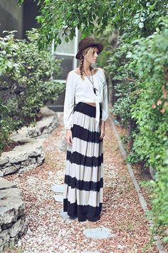 Harlow Skirt - Nobella Grace Boutique #nobellagrace #boho #bohochic #maxiskirt
