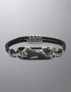 Exotic Stone Bracelet, Chinese Writing