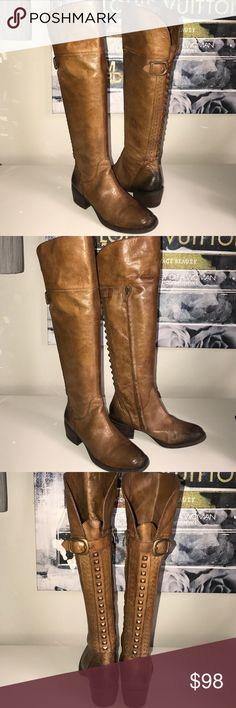 "Vince Camuto Bollo OTK boot Gorgeous, lightly worn, well cared for Vince Camuto otk zip boot. Heel height 1  3/4"" inches, shaft 18"" from top of heel. Shaft circumference 14"", adjustable strap at calf. Vince Camuto Shoes Over the Knee Boots"