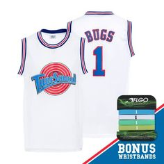 0494af2a8559 AFLGO Bugs Bunny Space Jam Tune Squad Basketball Jersey -  bugs  bunny   space