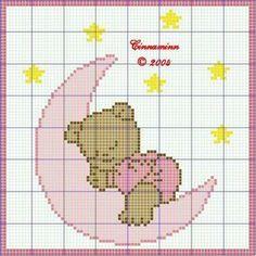 Embroidery - Page 8 Cute Cross Stitch, Cross Stitch For Kids, Cross Stitch Charts, Cross Stitch Designs, Cross Stitch Patterns, Cross Stitching, Cross Stitch Embroidery, Embroidery Patterns, Hand Embroidery
