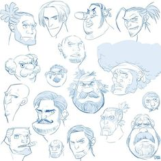 free drawing - face thumnail sketch #soonsangworks #disney #character #drawing #digital #art