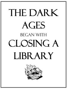 Image result for dark ages book burning