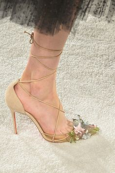 Louboutin for Marchesa S/S 14 | Man Repeller