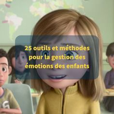 The children& brain is immature. Which implies that they have difficulty managing their emotions, hence the emotional storms that they undergo. But, we can help them develop their emotional intelligence. Here are some resources for this. Papa Positive, Positive Attitude, Montessori Education, Kids Education, French Lessons, New Students, Emotional Intelligence, Learn French, Children And Family