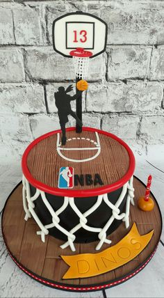 65 Best Basketball Cakes Images Basketball Birthday Basketball
