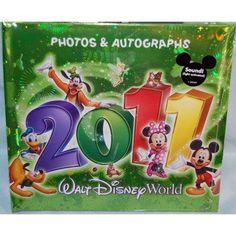 Walt Disney World 2011 Autograph Book @ niftywarehouse.com