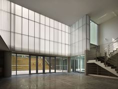 Image result for concrete glass facades office lobby Corporate Workplace