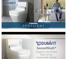 Duravit SensoWash® provides the most natural form of hygiene possible. Naturally clean, naturally fresh - nothing is as thorough, as hygienic, as natural and as refreshing as cleaning with water. This is why the shower-toilet, a toilet-bidet combination, is becoming increasingly popular.