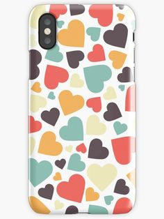 #phone #covers #iphone #case #hearts #love #valentinesday #redbubble