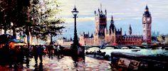 Henderson Cisz - Morning on the Embankment