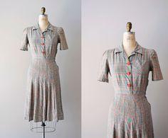 1940s dress | via Dear Golden.